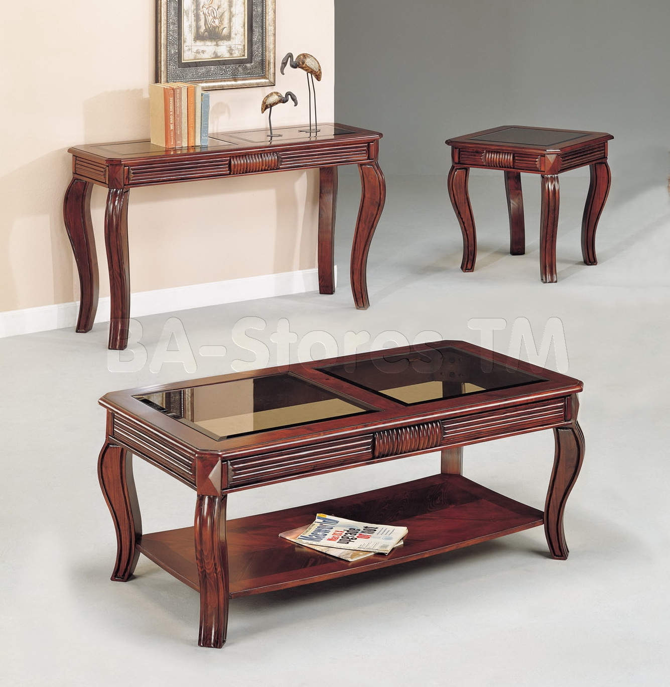 Sofa Table Sets Intended For Sofa Table With Chairs (Image 10 of 15)