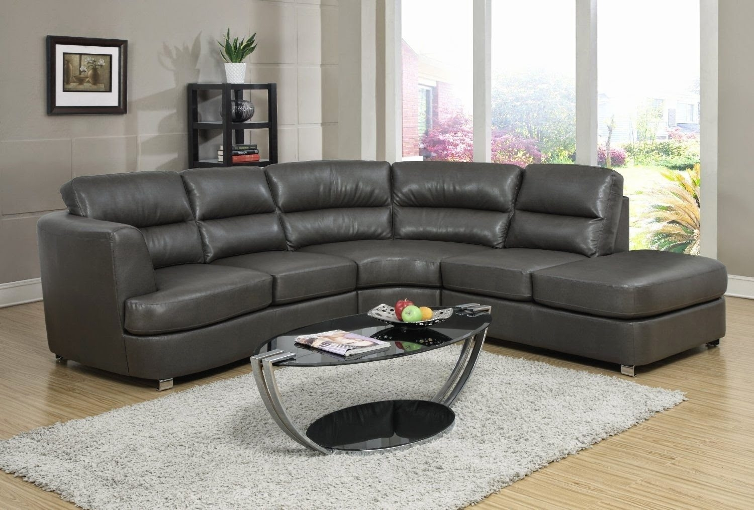 Sofas Center Charcoal Leather Sofa Grey Sectional Sofacharcoal Throughout Charcoal Grey Sofas (Image 11 of 15)