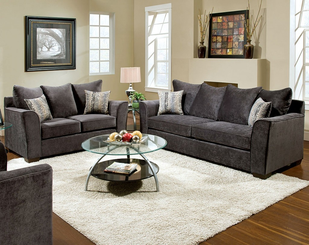 Sofas Center Charcoal Sofa Set Exceptional Pictures Inspirations Inside Charcoal Grey Sofa (Image 11 of 15)