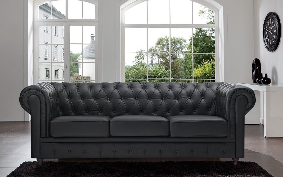 Sofas Center Chesterfield Tufted Leather Sectional Sofa For Sale Throughout Classic Sofas For Sale (Image 8 of 15)