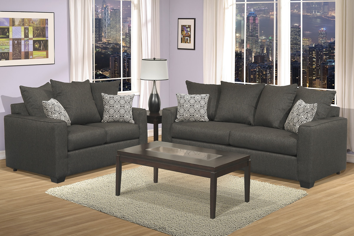 Sofas Center Gray Grey Sofa Andoveseat Set Taupegray Setsgray Regarding Charcoal Grey Sofas (Image 13 of 15)