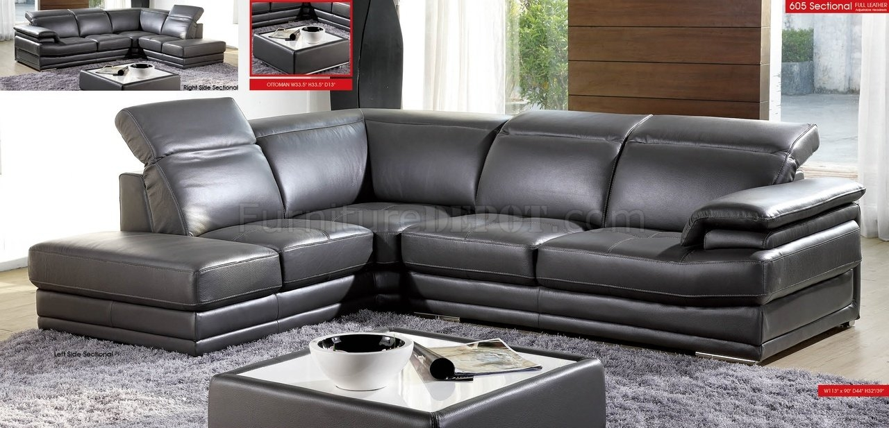 Sofas Center Gray Leatherional Sofas Power Recliner Grey Sofa With Charcoal Grey Sofas (Image 14 of 15)