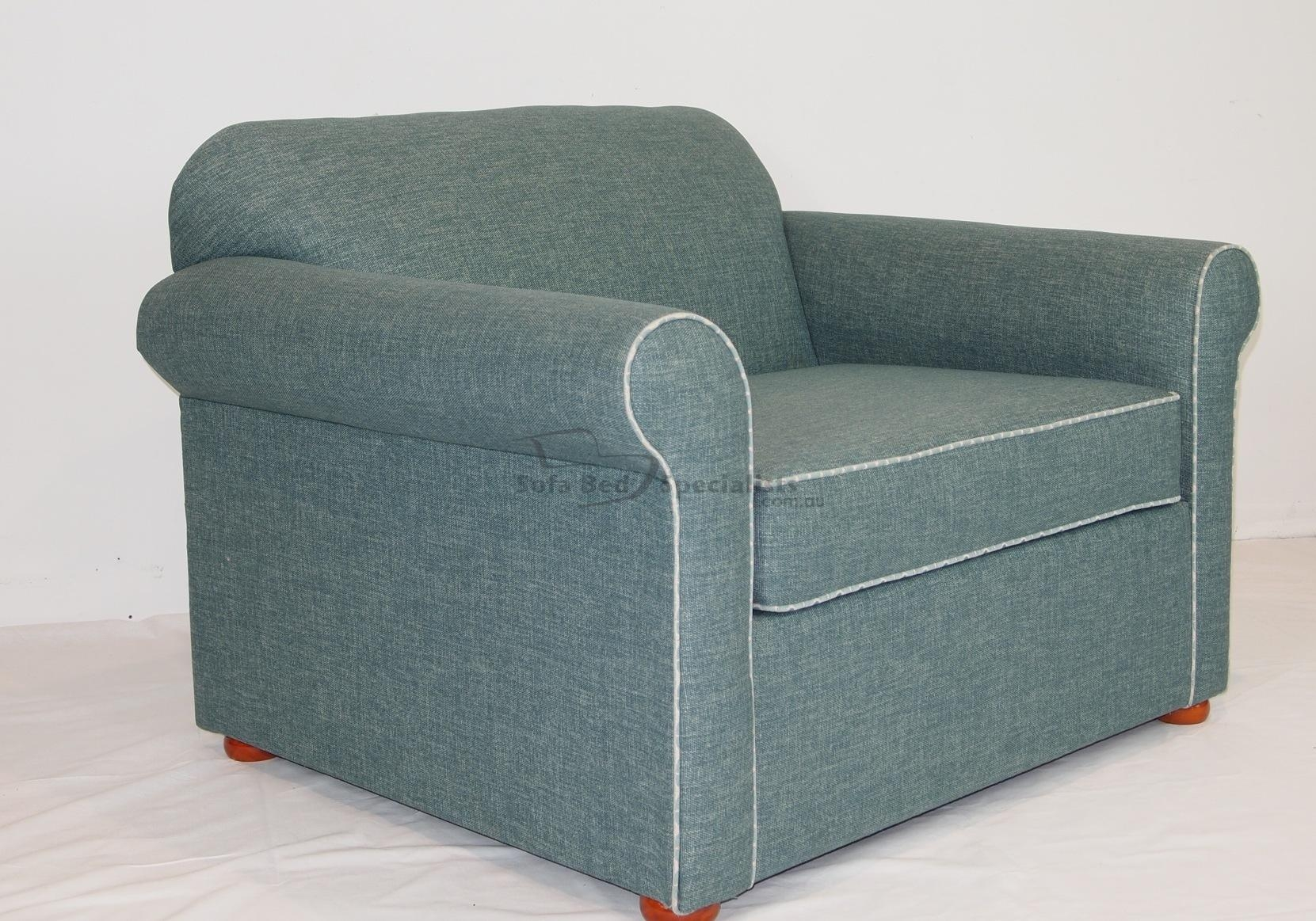 Sofas Center Single Chair Sofa With Memory Foamsingle Foam Throughout Single Sofa Bed Chairs (Image 13 of 15)