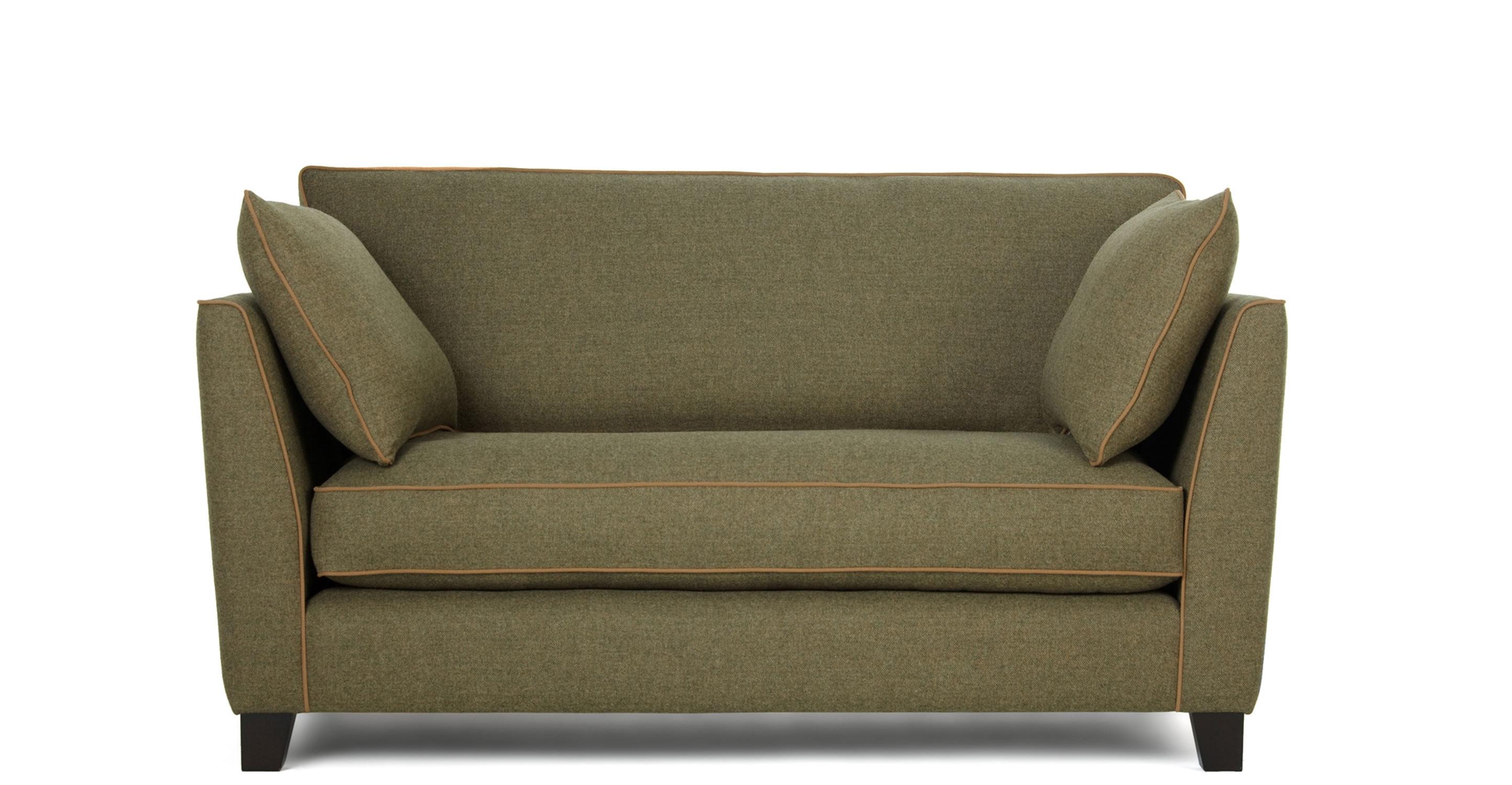 Sofas Center Stupendous Small Seater Sofa Image Concept Regarding Small 2 Seater Sofas (Image 13 of 15)