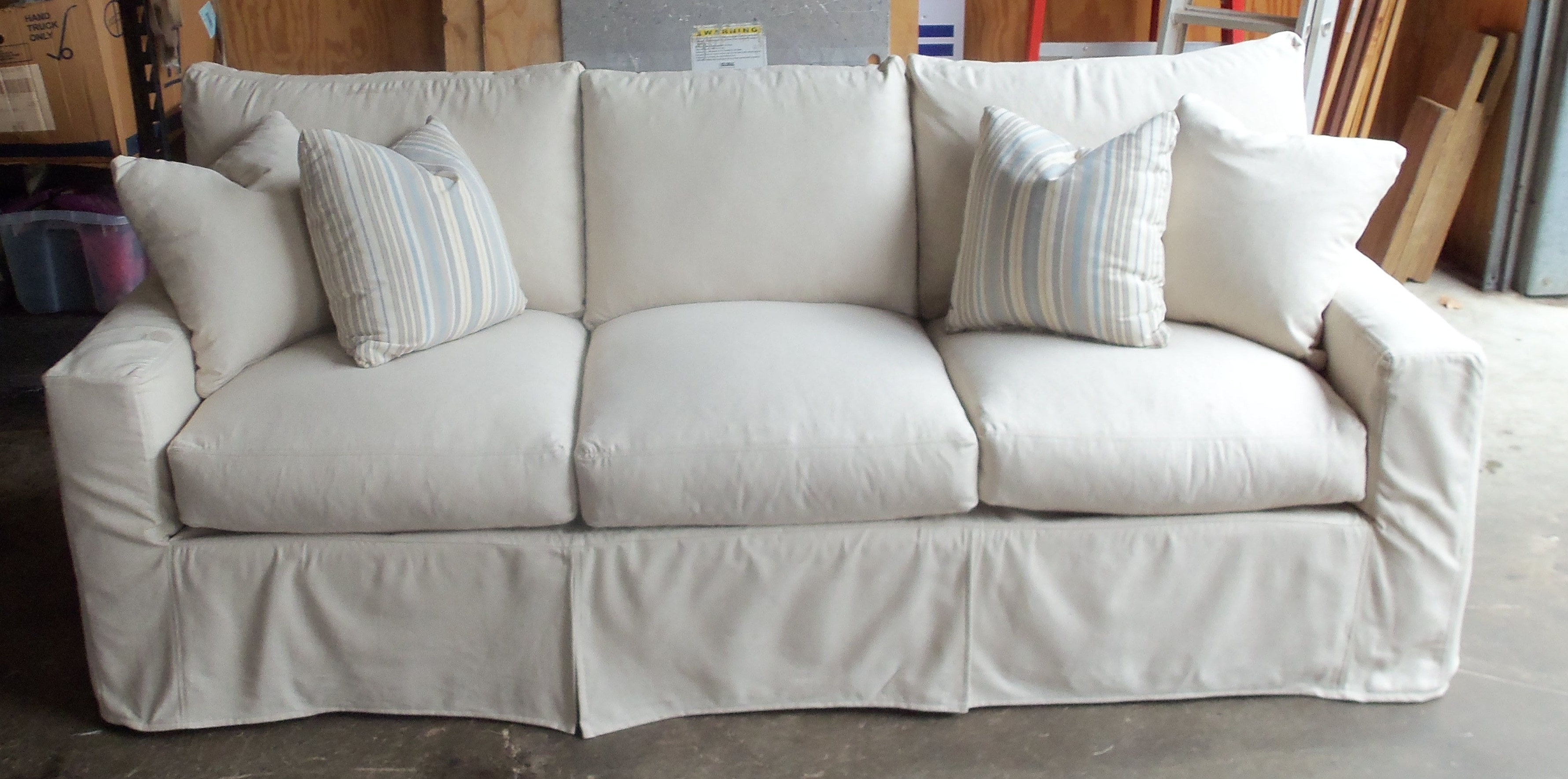 Sofas Center Stupendous White Slipcovers For Sofa Photo With Slipcovers For Sofas And Chairs (Image 14 of 15)