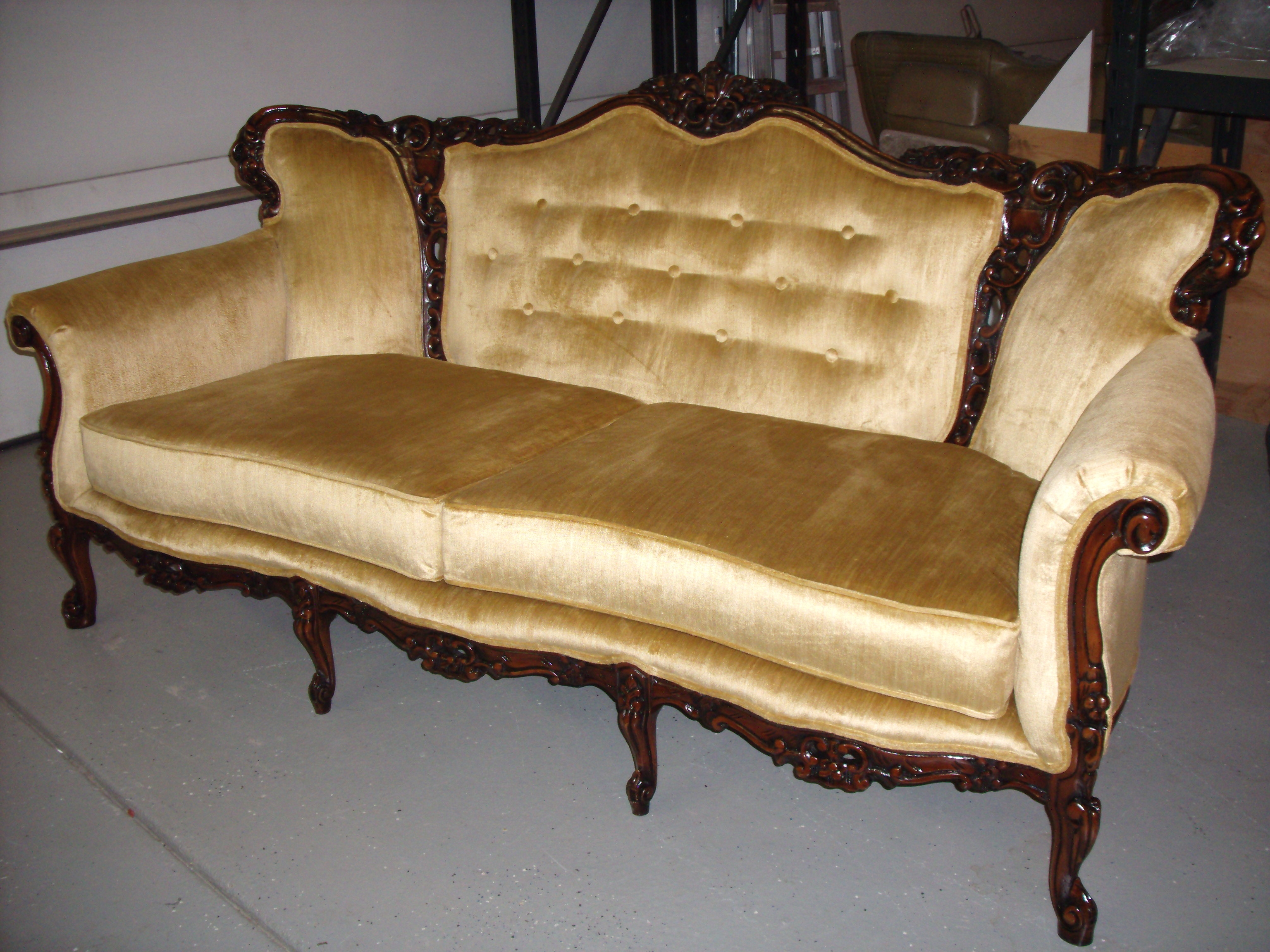 Sofas Center Vintage Couch With Three Seating Newknowledgebase Pertaining To Vintage Sofa Styles (View 10 of 15)