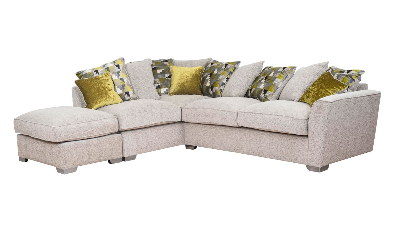 Sofas Settees Recliner Suites Armchairs Ahf Throughout Corner Sofa Chairs (Image 14 of 15)
