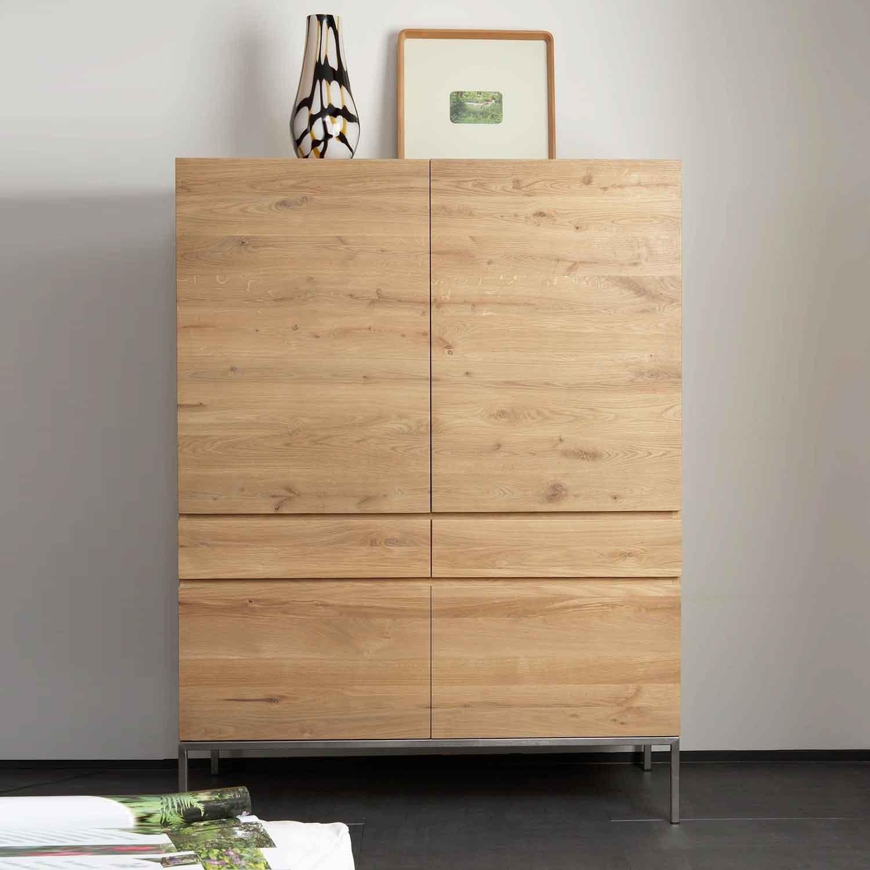 Solid Oak Storage Cupboards Built To Last Oak Furniture In Oak Cupboards (View 12 of 15)