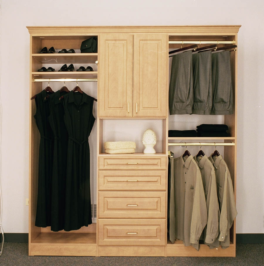 Solid Wood Wardrobe Closet Roselawnlutheran With Solid Wood Wardrobe Closets (View 4 of 25)