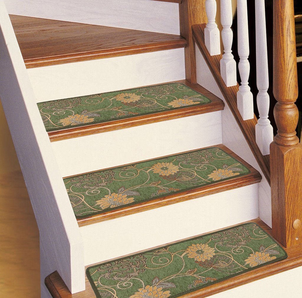Soloom Carpet Stair Treads Non Slip Set Of 13 Indoor Skid For Set Of 13 Stair Tread Rugs (View 8 of 15)