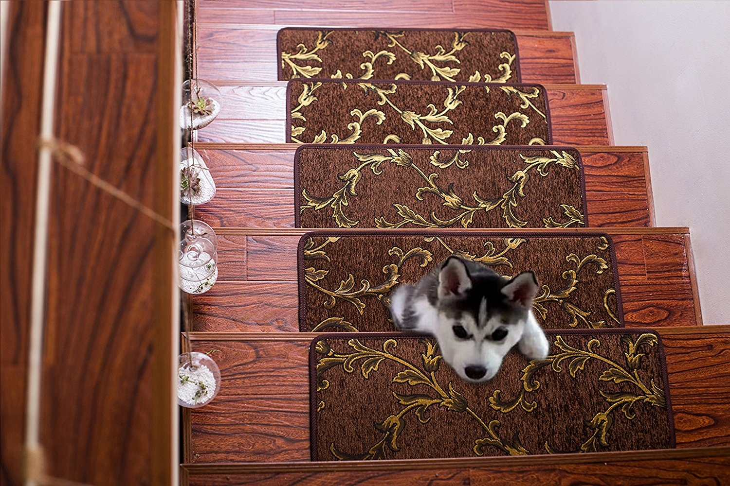 Soloom Carpet Stair Treads Non Slip Set Of 13 Indoor Skid With Stair Tread Rug Gripper (View 13 of 15)