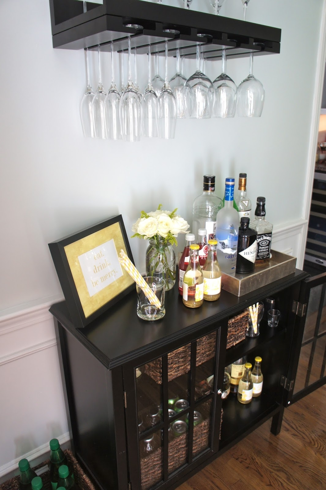 Sophisticated Home Bar Ideas Reliable Remodeler Inside Glass Shelves For Bar Area (Image 13 of 15)