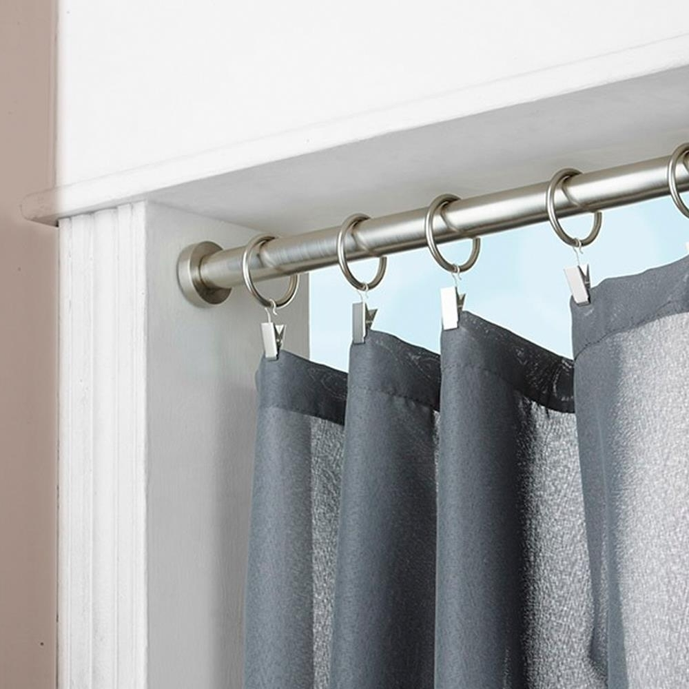 Spring Tension Curtain Rods Nz Curtain Menzilperde Pertaining To Spring Loaded Curtain Poles (View 9 of 25)
