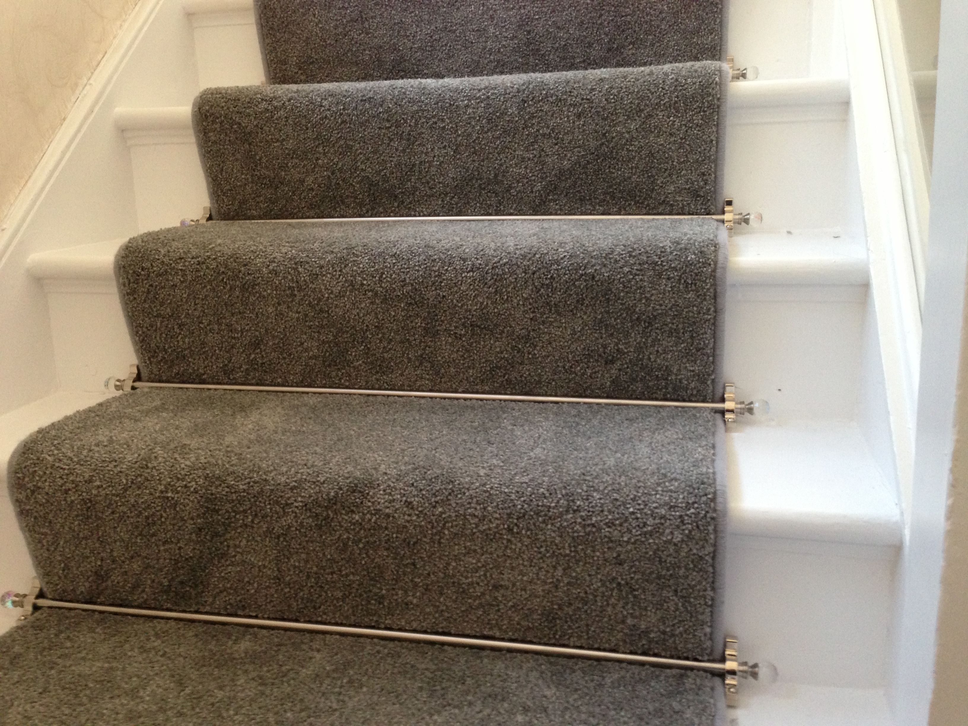 Stair Carpet Runner Find This Pin And More On Stair Runner Regarding Stair Tread Carpet Bars (Image 12 of 15)