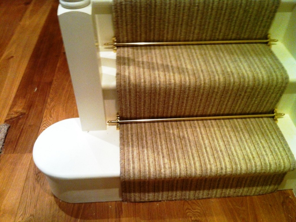 Stair Rods For Carpet Runners Stair Constructions The Way Of In Stair Tread Carpet Rods (Image 14 of 15)