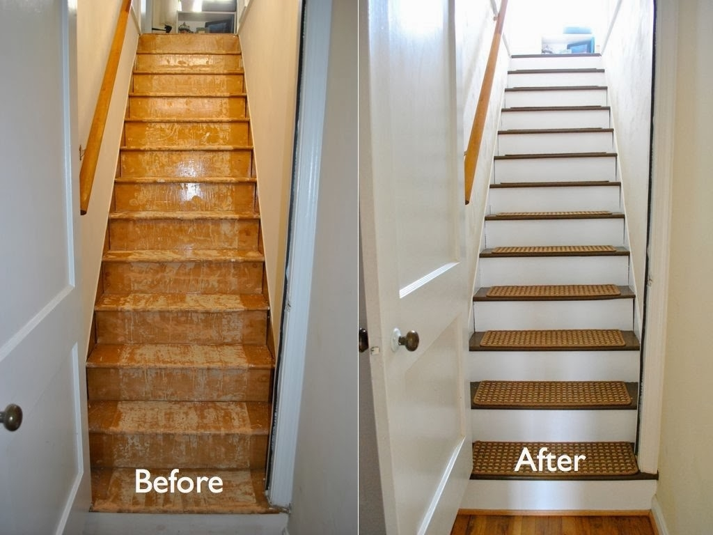 Stair Rug Treads Roselawnlutheran Regarding Stair Tread Carpet Protectors (View 7 of 15)