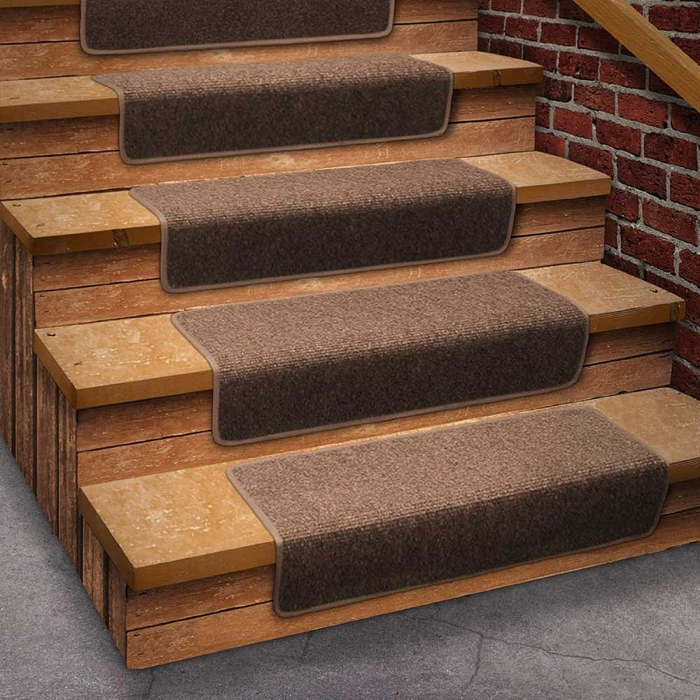 Stair Rugs Tightly Woven And Extremely Durable And Longlasting With Indoor Outdoor Carpet Stair Treads (Image 12 of 15)