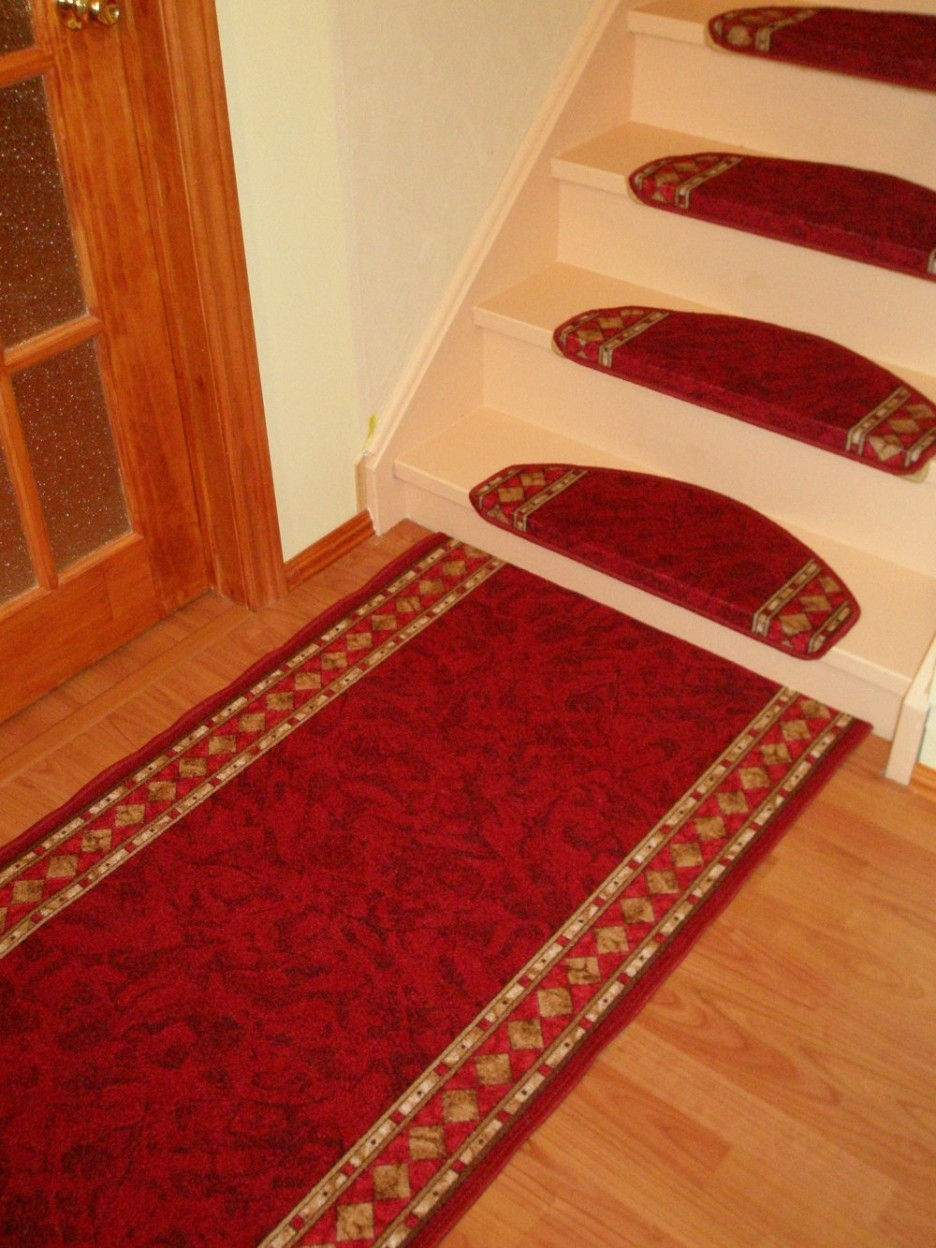 Stair Stair Tread Carpet Mats Benefits Carpet Runners For For Washable Stair Tread Rugs (Image 10 of 15)
