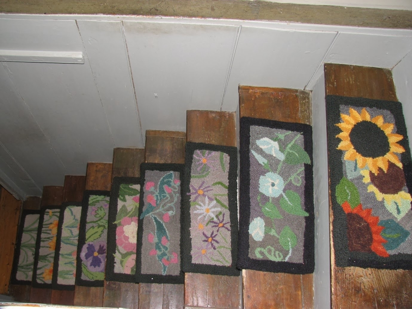 Stair Tread Covers Wood Stair Treads Wood Stair Treads Suppliers Regarding Custom Stair Tread Rugs (Image 12 of 15)