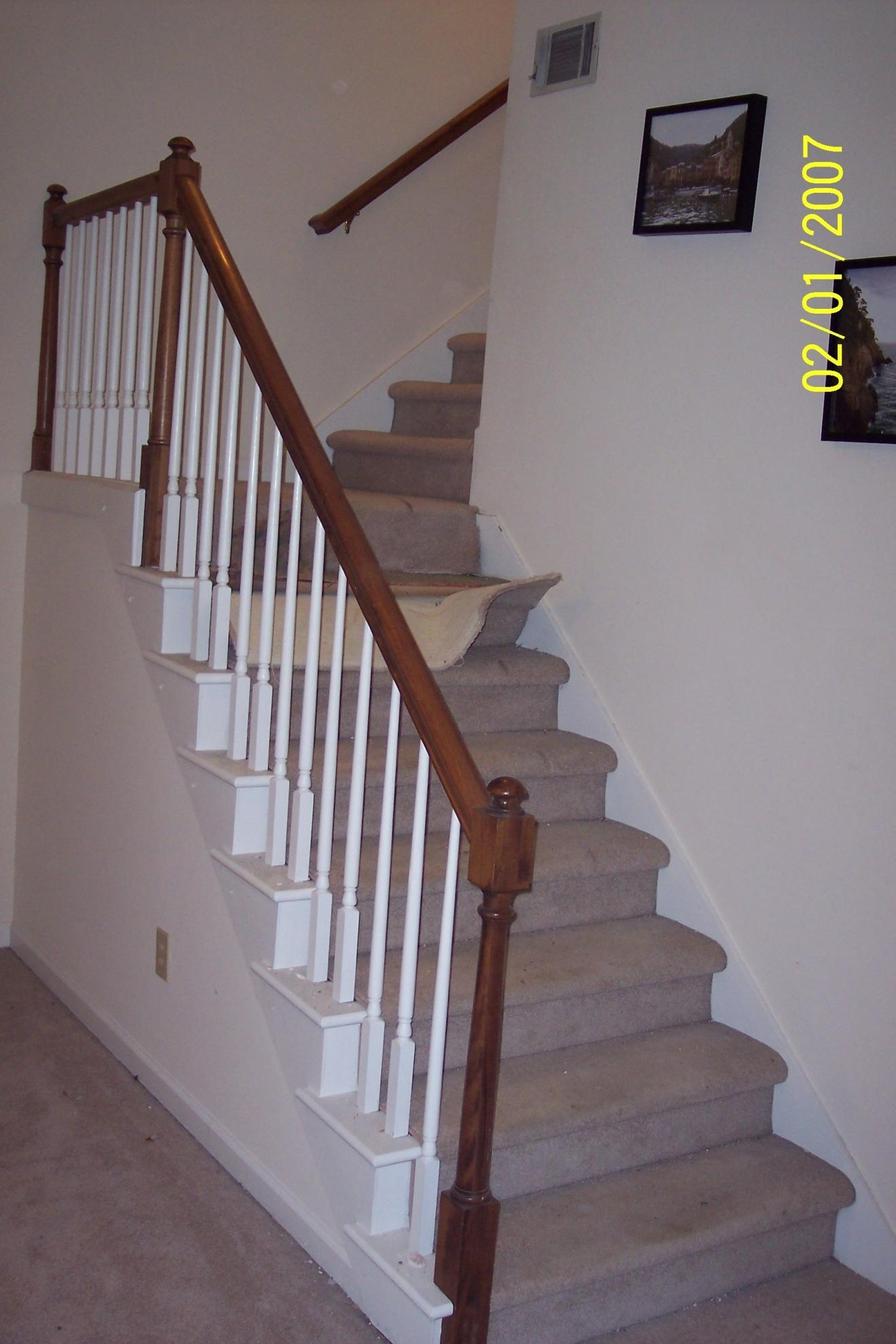 Stair Tread Remodel Carpet Runner Flooring Contractor Talk Throughout Stair Tread Carpet Runners (Image 14 of 15)