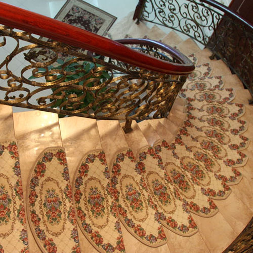 Stair Treads Rug Home Decors Collection Within Oriental Rug Stair Treads (Image 14 of 15)