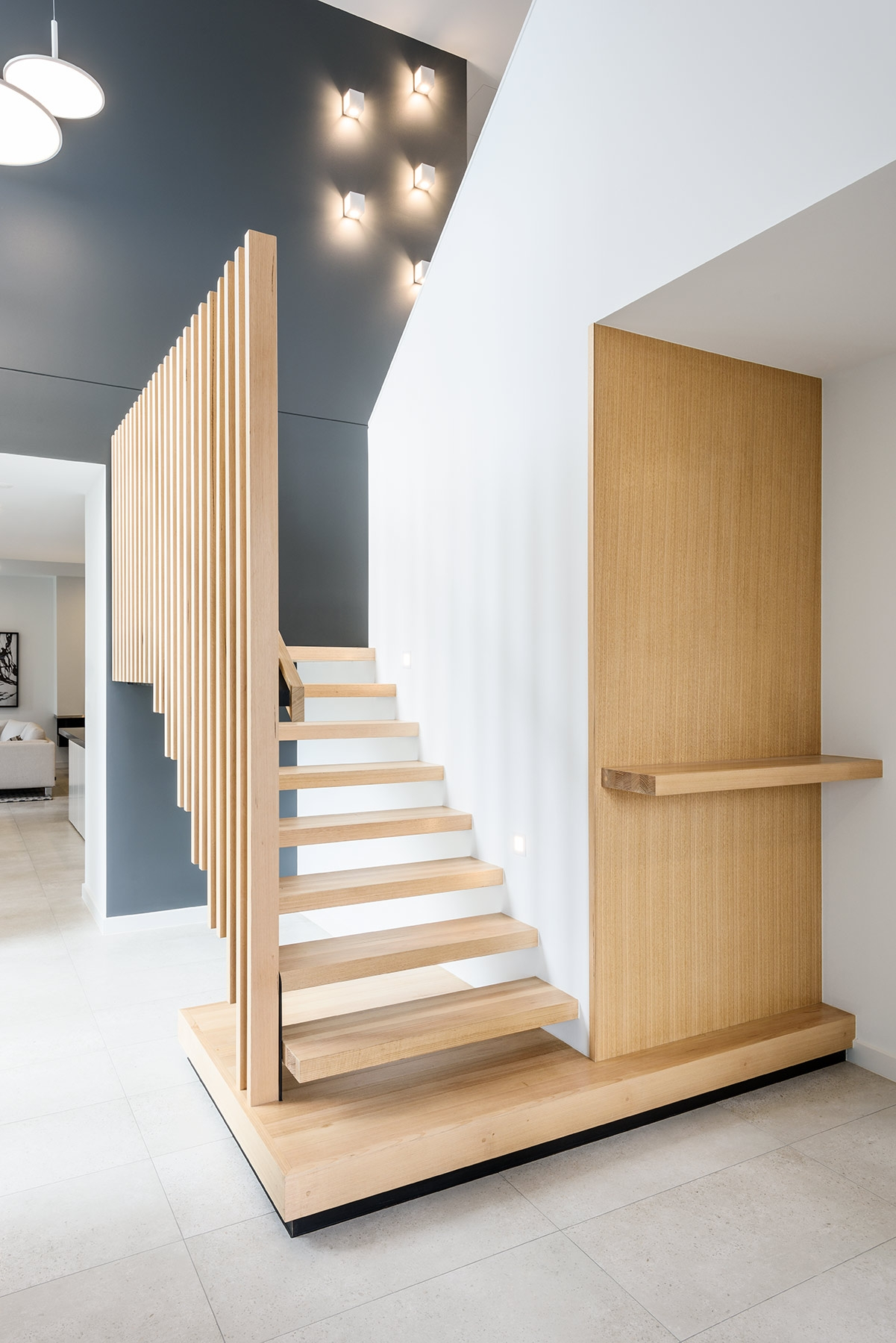 Stair Treads Victorian Ash Balustrade Feature For Contemporary Stair Treads (Image 12 of 15)
