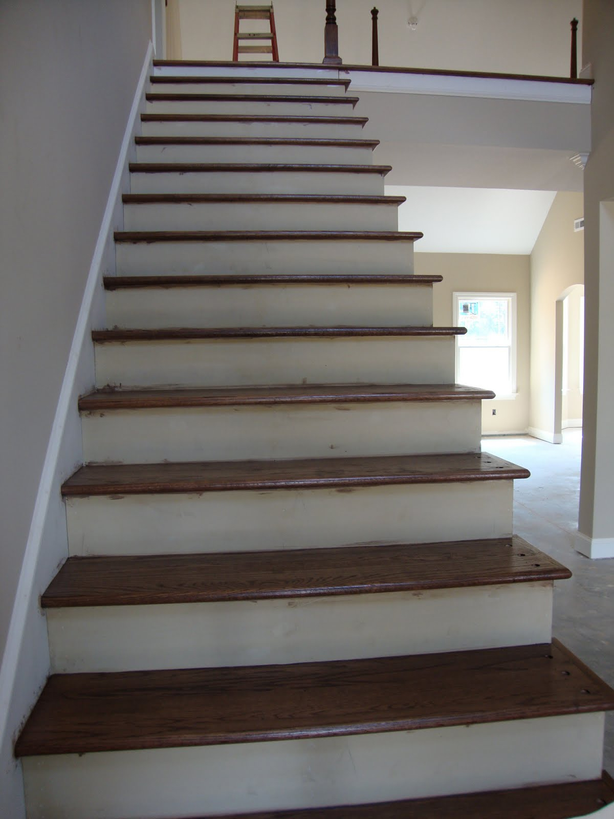 Stair Treads Wood Stair Design Ideas Pertaining To Contemporary Stair Treads (Image 14 of 15)