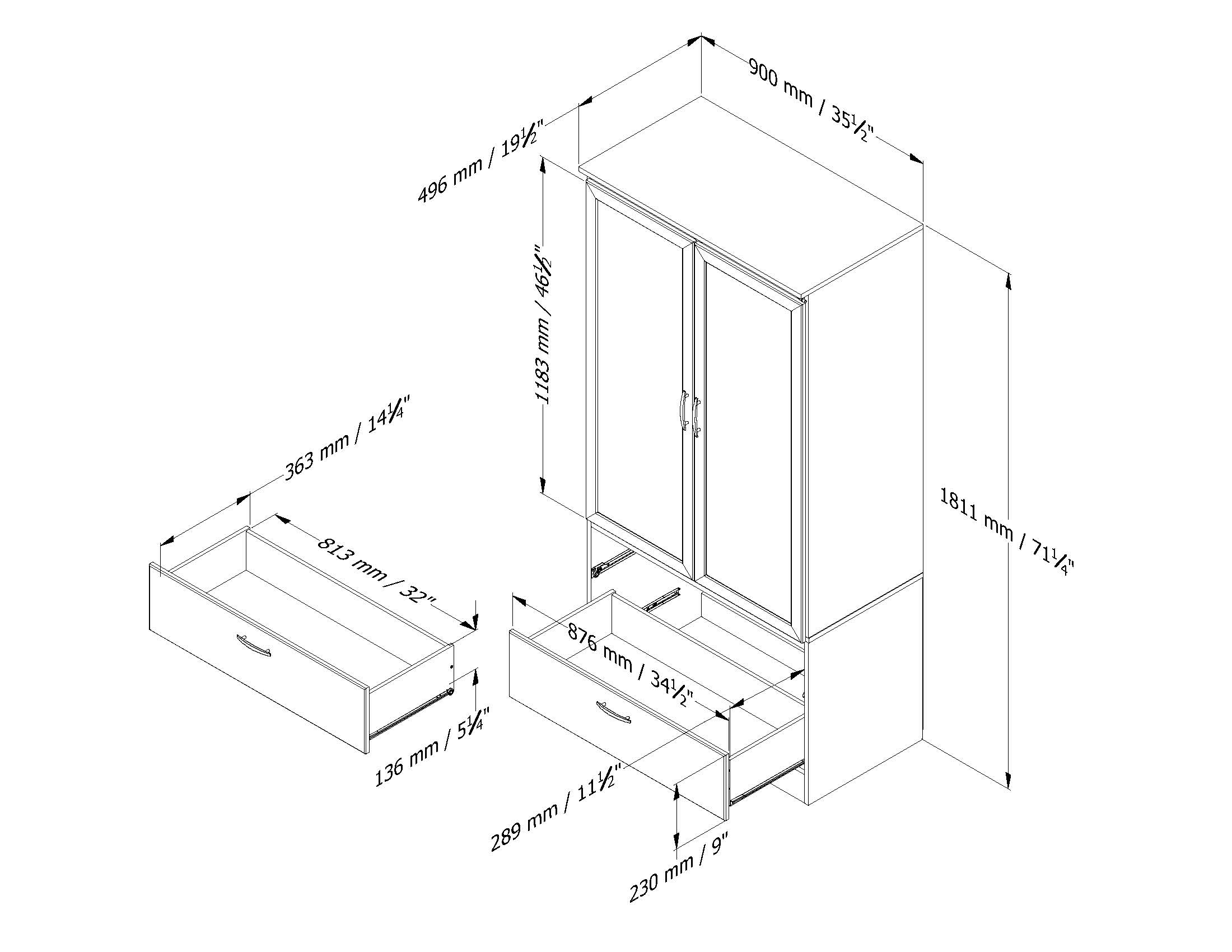 Standard Wardrobe Depth Google Search Ideas For The House For Fitted Wardrobe Depth (View 8 of 15)