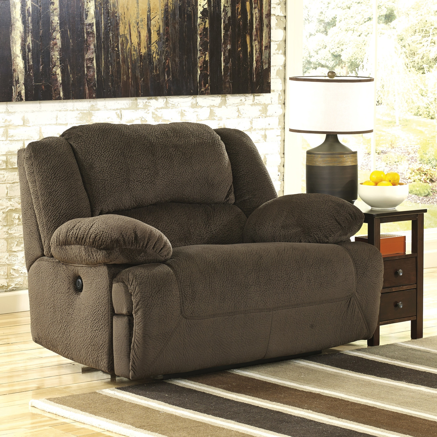 Statue Of Oversized Recliner Chair Product Selections Furniture Within Wide Sofa Chairs (Image 13 of 15)