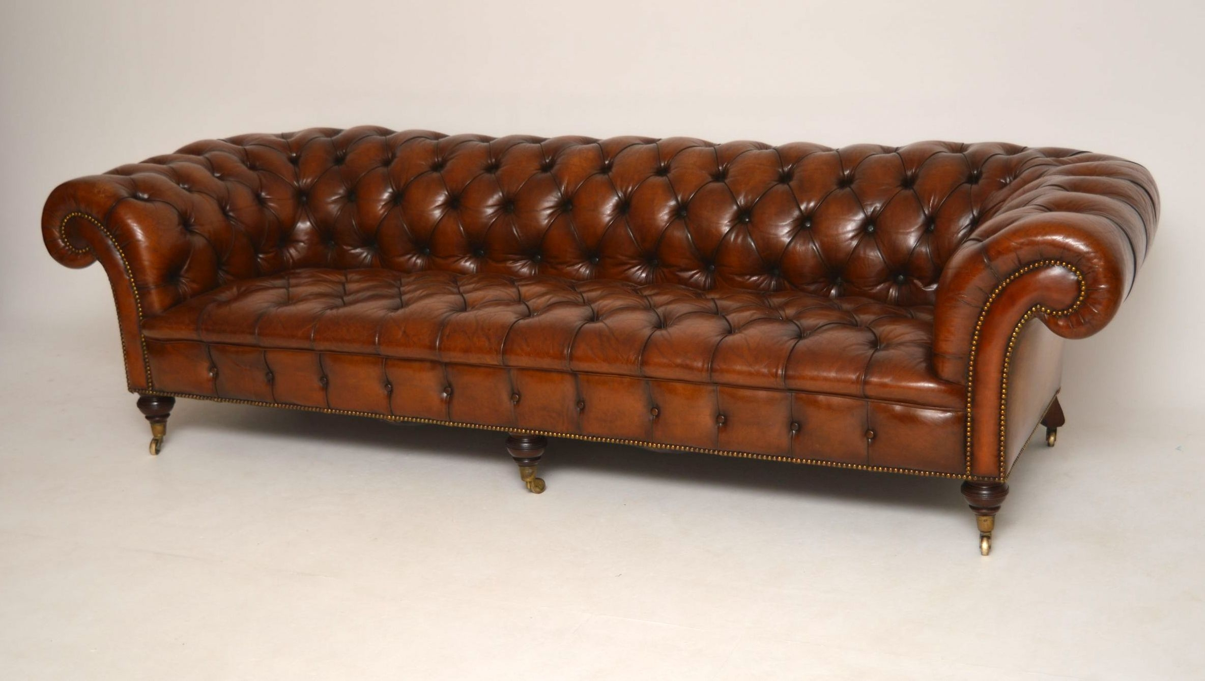 15 s Victorian Leather Sofas