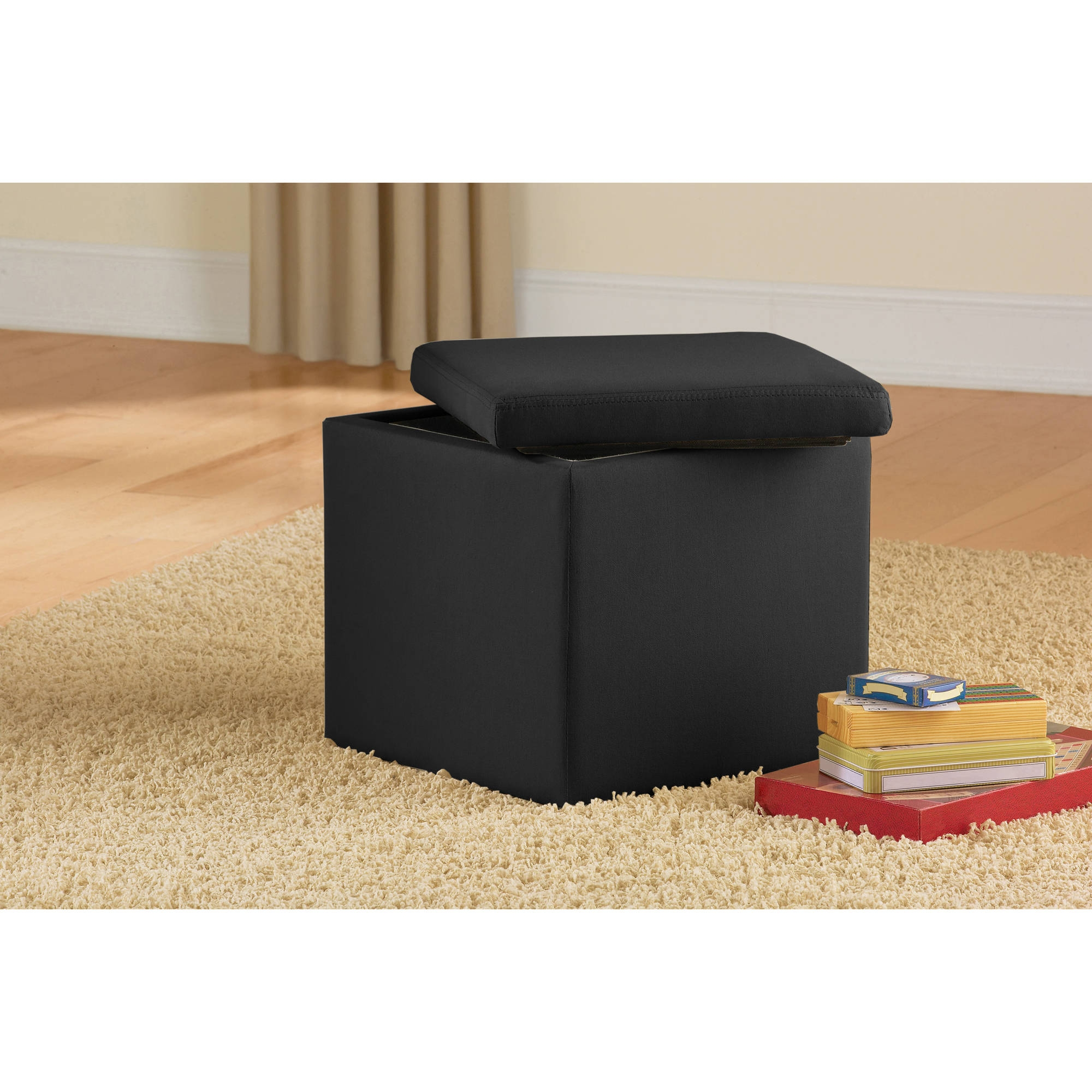 Storage Footstools Ottomans With Regard To Footstools And Pouffes With Storage (Image 12 of 15)