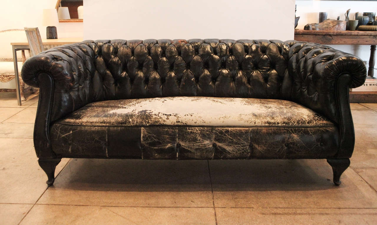 Storage Home Antiques Seating Antique Chesterfield Sofa Antique For Vintage Chesterfield Sofas (Image 8 of 15)