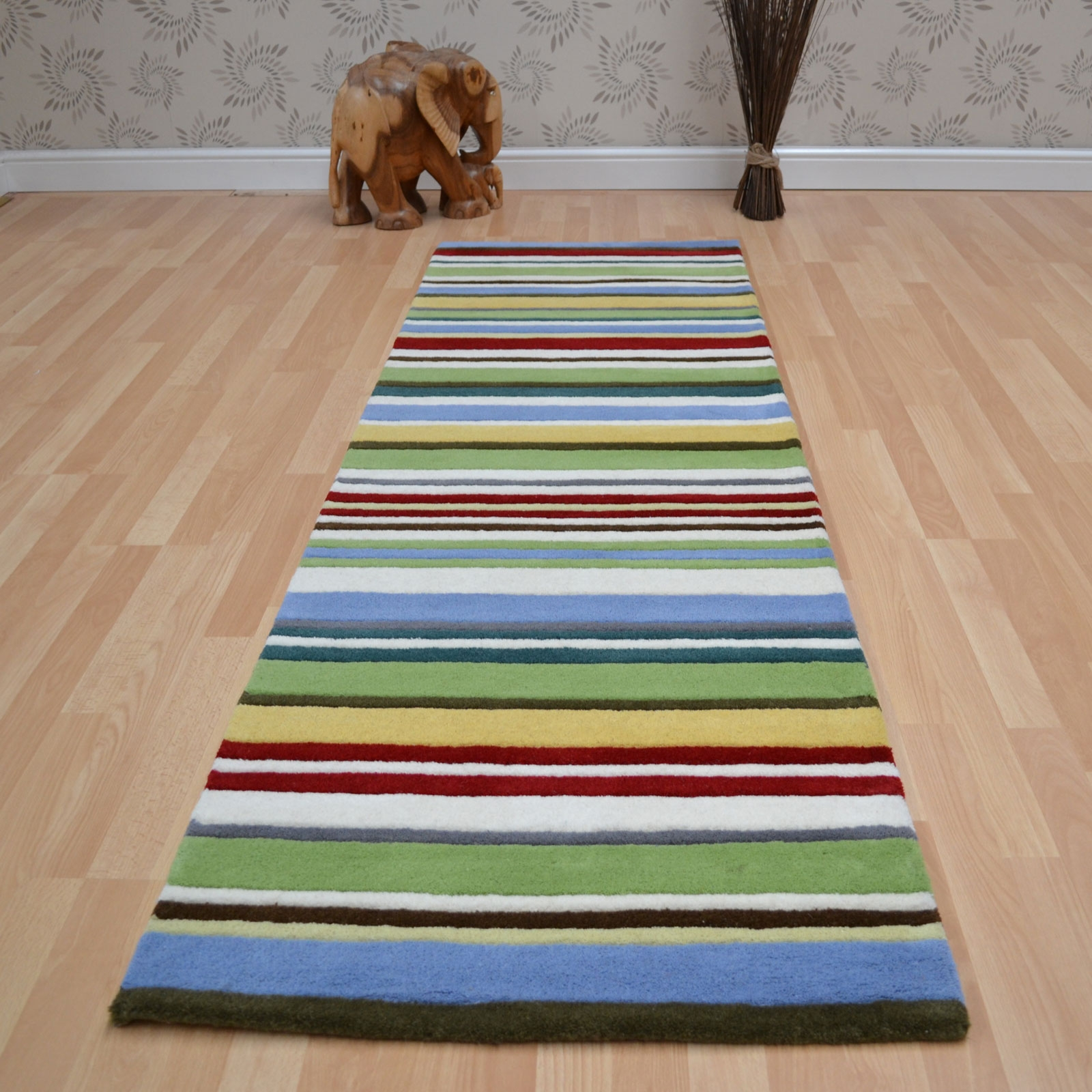 Striped Runner Rugs Roselawnlutheran Regarding Striped Mats (Image 15 of 15)