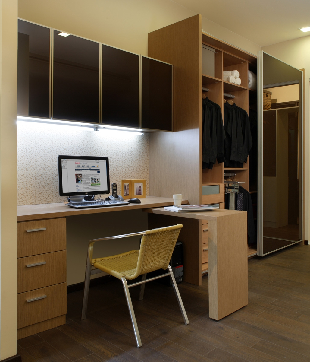 Study Table With Wall Cabinet Wardrobe Our Showroom Pinterest Pertaining To Study Cupboards (View 4 of 15)