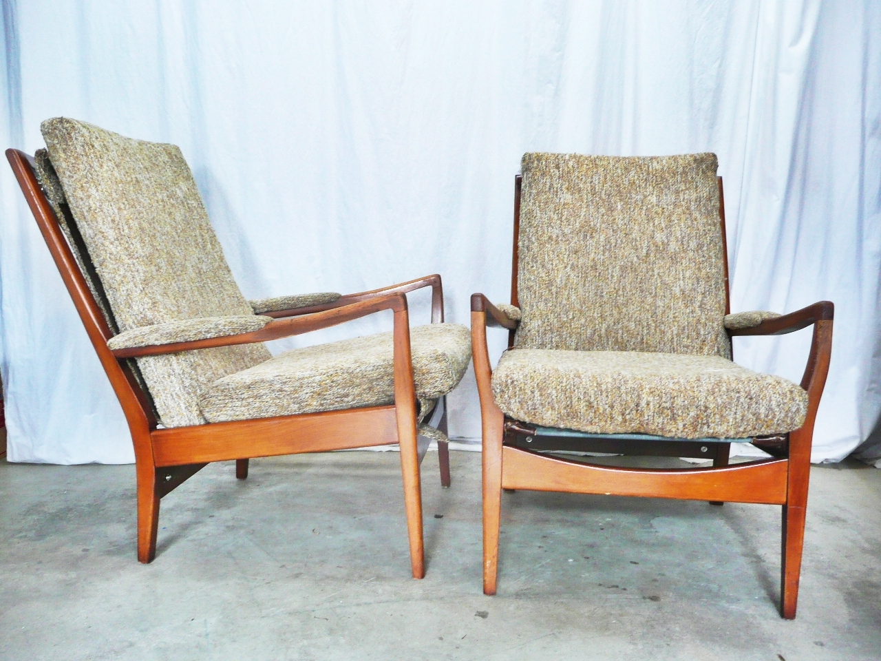 Stunning Common Cintique Fabric Chairs Pertaining To Modern Mid Century Danish Vintage Furniture Shop Used (View 3 of 15)
