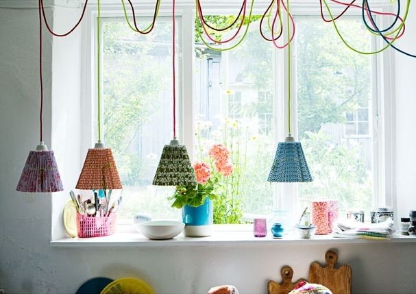 Stunning Common Coloured Cord Pendant Lights Throughout Colour Pendant Lighting Sa Dcor Design Blog (Image 22 of 25)