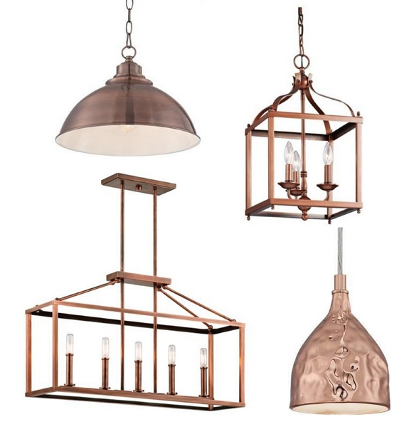 Stunning Common Copper Pendant Lights With Best Copper Pendant Lights Kitchen Images Decorating Ideas (Image 18 of 25)