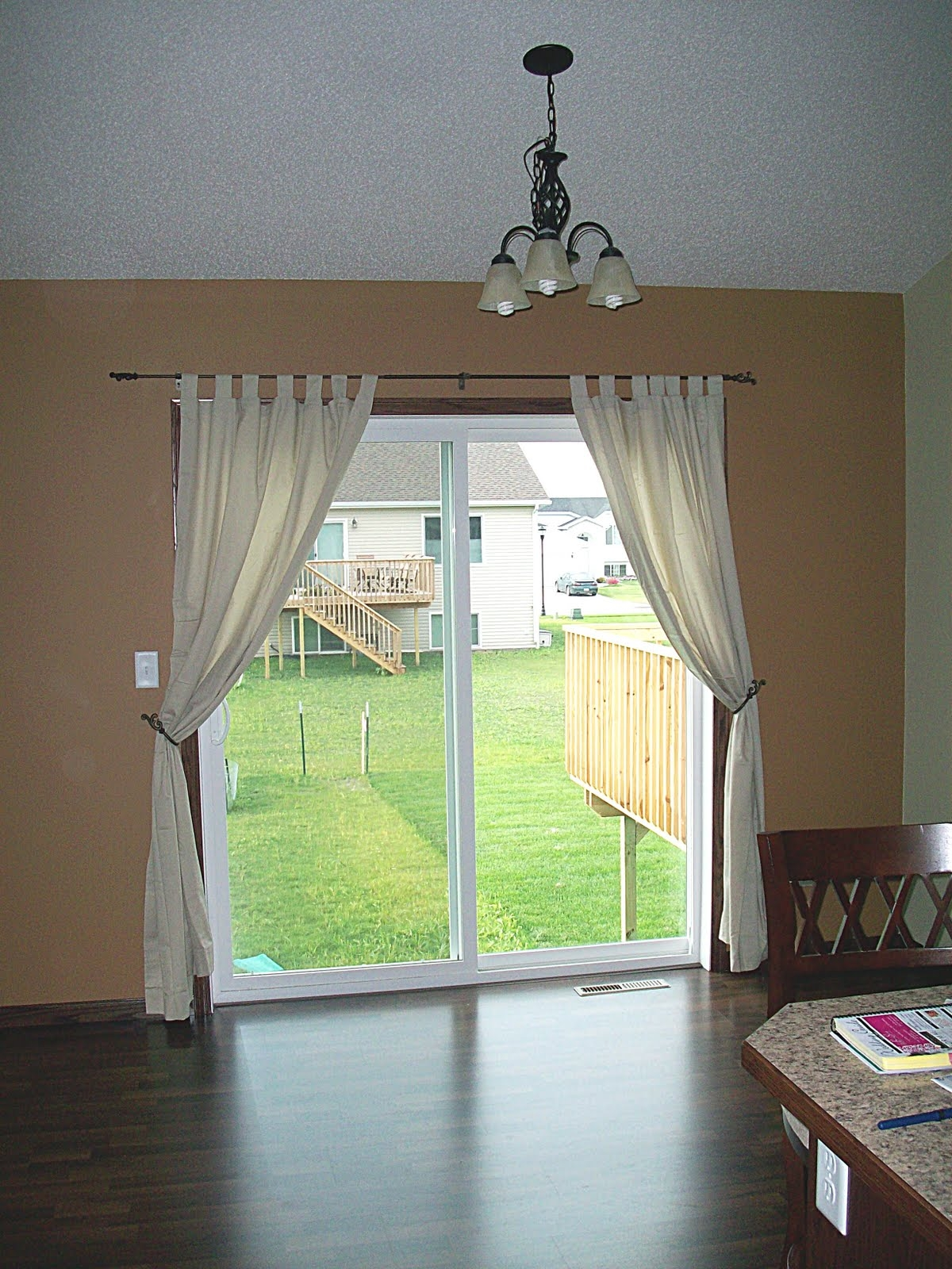 Stunning Decorating Ideas Sliding Glass Door Curtains Pictures With Sliding Glass Door Curtains (Image 22 of 25)