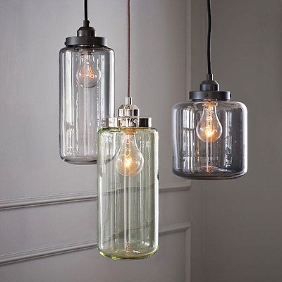 Stunning Deluxe Glass Pendant Ceiling Lights Throughout Glass Vintage Industrial Edison Bulb Ceiling Lamp Pendant Light (Image 23 of 25)