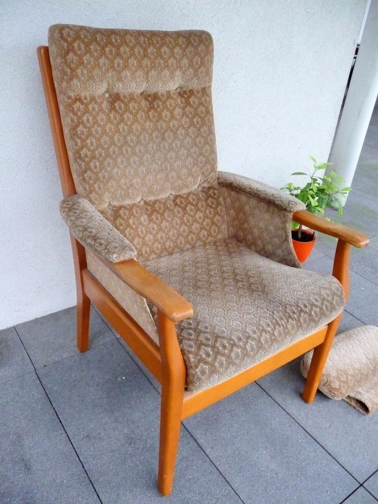 Stunning Deluxe Vintage Cintique Armchair Inside Vintage Mid Century Retro 60s70s Armchair G Plan Era Cintique (Image 13 of 15)