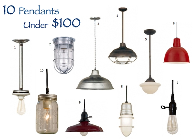 Stunning Elite Barn Pendant Light Fixtures Inside Pendant Options That Wont Break The Bank Blog (Image 18 of 25)