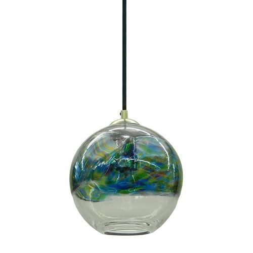 Stunning Famous Aqua Pendant Light Fixtures Intended For Custom Lighting Pawtucket Providence Art Glass And Lighting (Image 22 of 25)