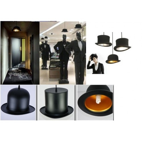 Stunning Famous Jeeves And Wooster Pendant Lights Within Wooster Top Hat Pendant Lights Aluminum Gentle (Image 23 of 25)