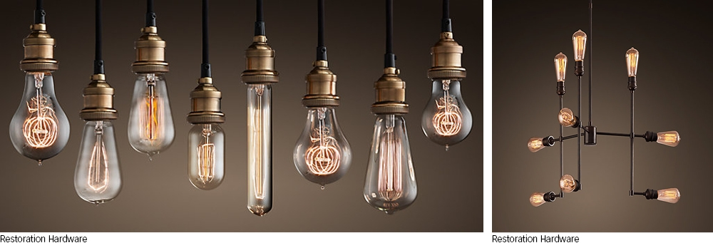 Stunning Fashionable Bare Bulb Filament Pendants With Its All About The Bulbs My Home My Style (Image 21 of 25)
