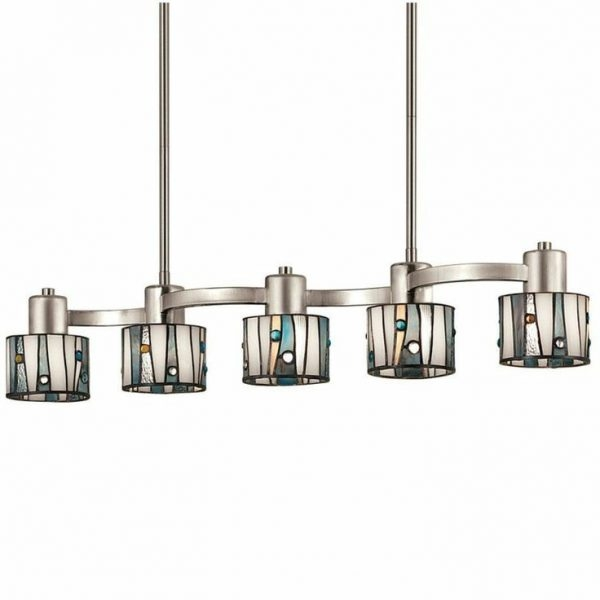 Stunning Fashionable Brushed Stainless Steel Pendant Lights Regarding Aesthetic Brushed Nickel Kitchen Lighting With Stainless Steel (Image 21 of 25)