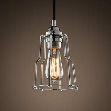 Stunning Favorite Latest Pendant Lights Regarding Edison Hanging Lights Vintage Rustic Metal Lampshade Edison (View 3 of 25)
