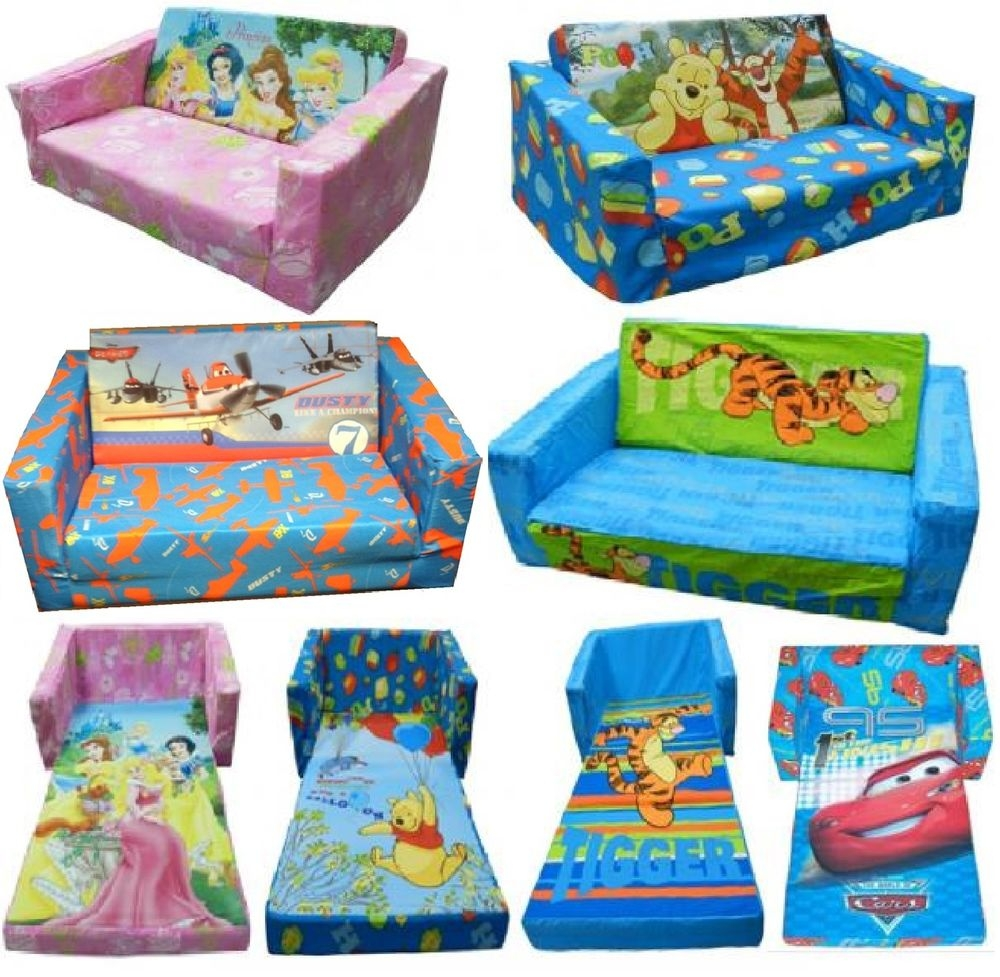 Stunning Fold Out Couch For Kids Gallery Home Design Ideas In Disney Sofa Chairs (View 11 of 15)