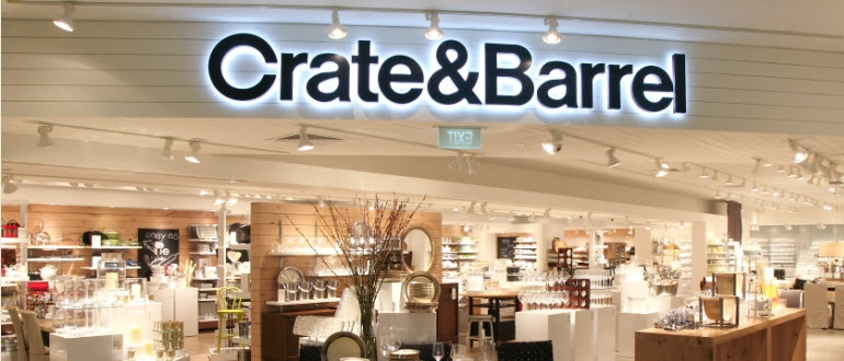 Stunning High Quality Crate & Barrel Lighting Inside Housewares And Furniture Store Singapore Crate And Barrel Ion (Image 22 of 25)