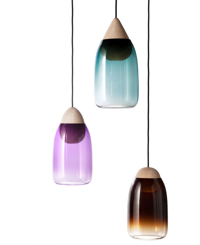 Stunning Latest Coloured Glass Pendant Lights For Glass Objects For Everyday Use Interiorzine (Image 23 of 25)