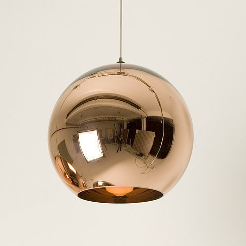 Stunning Latest Copper Pendant Lights Pertaining To Copper Pendant Light Popsugar Home (Image 19 of 25)
